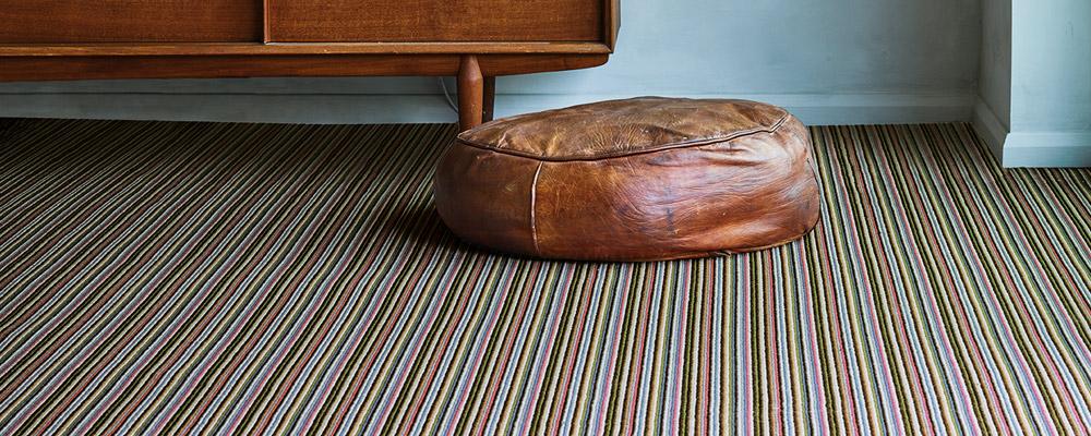 Wool Mississippi Chocolate Blue Carpet