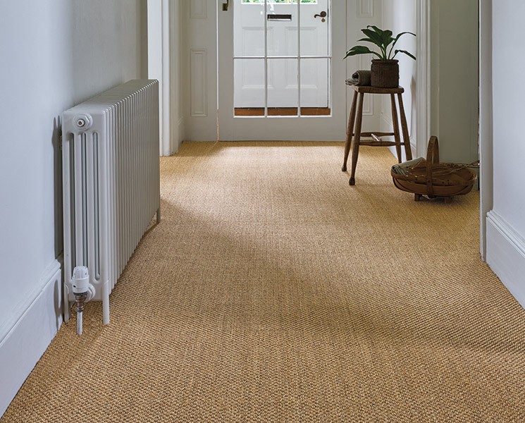 Sisal Oriental Copper Carpet