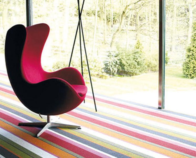 Statement Stripe Carpet